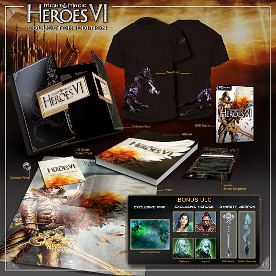 Heroes Collector FINAL Jeux   3 éditions collectors qui en jettent
