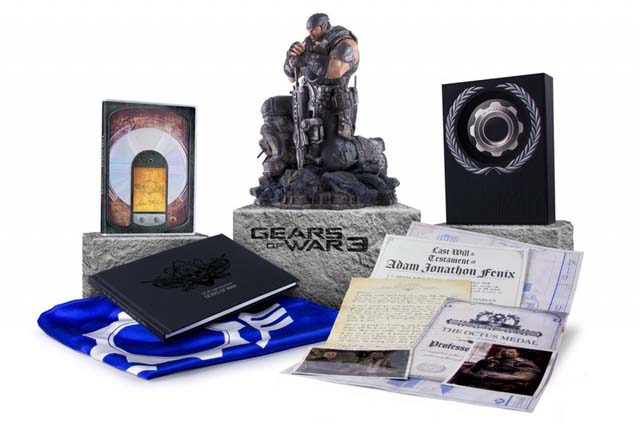 gears of war 3 collector epic Jeux   3 éditions collectors qui en jettent